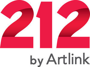 2 12 by Artlink. Logo.