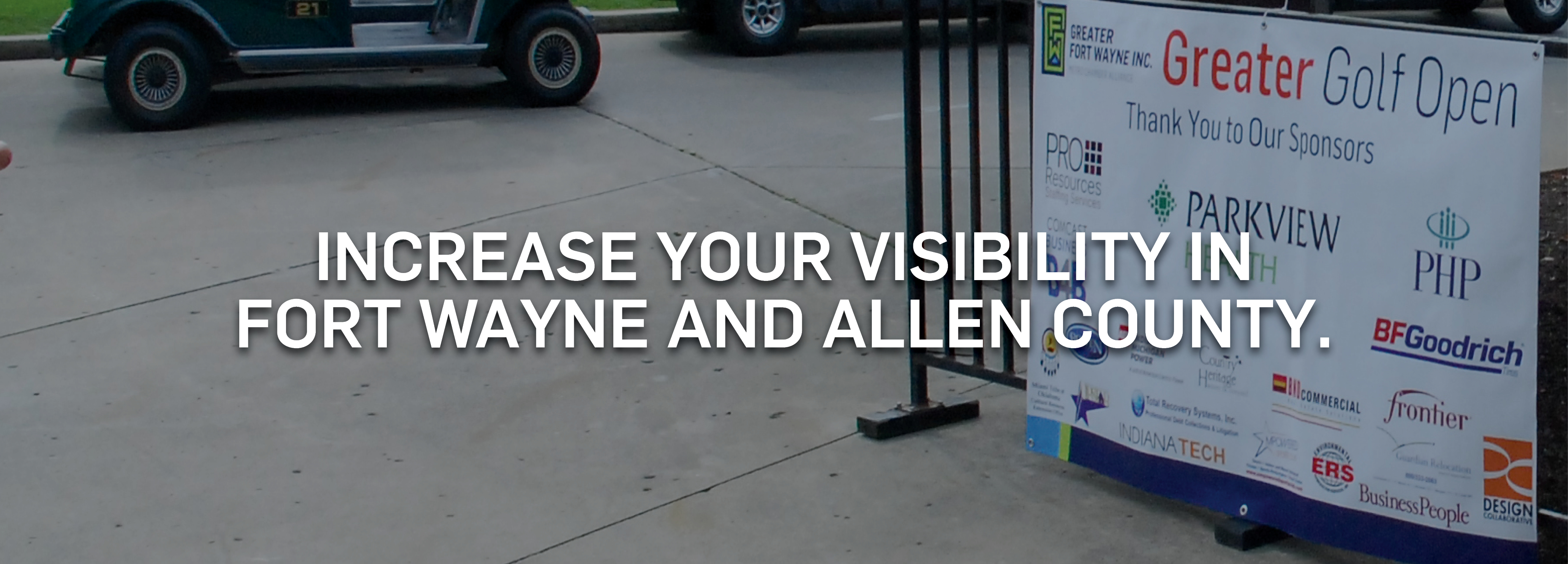 Increase your visibility in Fort Wayne and Allen County.