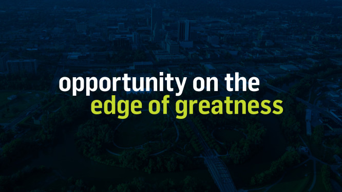 Opportunity on the Edge of Greatness.