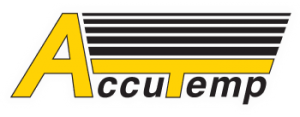 AccuTemp. Logo.