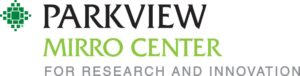 Parkview Mirro Center for Research and Innovation. Logo.