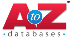 A to Z Databases. Logo.