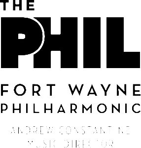 The Phil. Logo. This is the Fort Wayne Philharmonic, and Andrew Constantine is their Music Director.