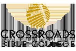 Crossroads Bible College. Logo.
