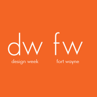 Design Week Fort Wayne. Logo.