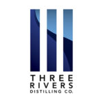 Three Rivers Distilling Company. Logo.