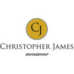 Christopher James Menswear. Logo.