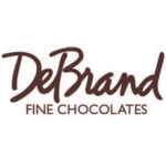 DeBrand Fine Chocolates. Logo.