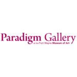 Paradigm Gallery at the Fort Wayne Museum of Art. Logo.