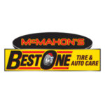 McMahon's Best One Tire and Auto Care. Logo.