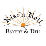 Rise and Roll Bakery and Deli. Logo.