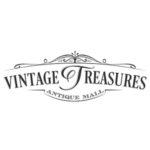Vintage Treasures Antique Mall. Logo.