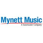 Mynett Music: A Sweetwater Company. Logo.