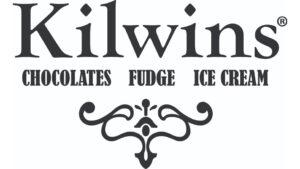Kilwins Chocolates Fudge and Ice Cream shop. Logo.