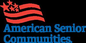 American Senior Communities. Logo.