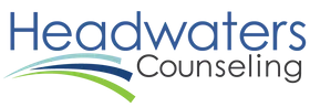 Headwaters Counseling. Logo.