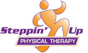 Steppin Up Physical Therapy. Logo.