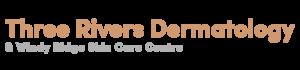 Three Rivers Dermatology. Logo.