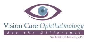 Vision Care Ophthalmology. Logo.